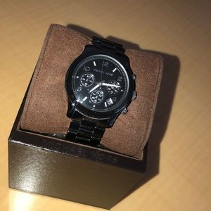 Slate Black Michael Kors Watch *Amazing Condition*